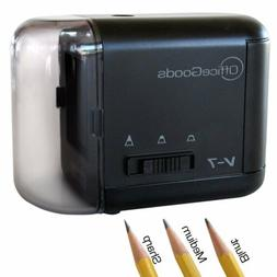 Electric & Battery Operated Pencil Sharpener - for Home Offi