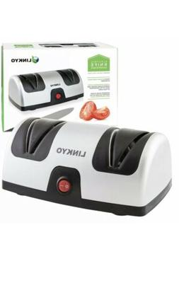LINKYO Electric Knife Sharpener Featuring Automatic Blade Po