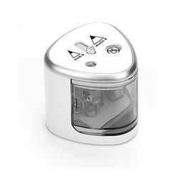 Electric Pencil Sharpener,Auto-Stop Feature And Double A Bat