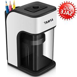 AFMAT Electric Pencil Sharpener, Electric Heavy Duty Pencil