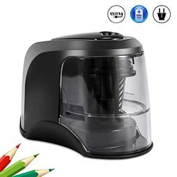Electric Pencil Sharpener, Auto & Safety Features Electric P