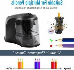 Electric Pencil Sharpener, Battery Operated or USB Heavy Dut