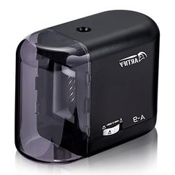 Artify Electric Pencil Sharpener-Auto Stop-Battery Or Ac Ada