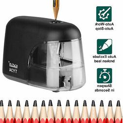 Electric Pencil Sharpener Automatic Battery Power Operated D