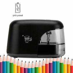 Electric Pencil Sharpener, Automatic Sharpener Battery Power