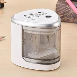 Electric Pencil Sharpener Automatic Touch Switch Office Scho