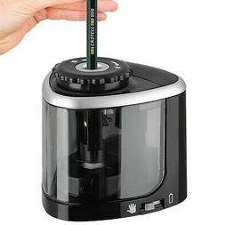 Electric Pencil Sharpener Automatic Touch Switch Battery Pow