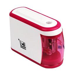 Small Electric Pencil Sharpener Battery Operated With Pink C