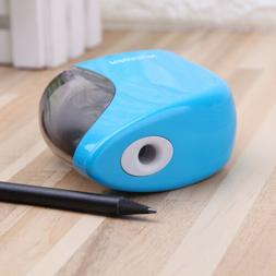 Electric Pencil Sharpener Battery/USB Powered Auto For Color