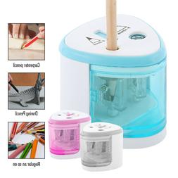 Electric Pencil Sharpener Best Heavy Duty With Auto Stop Kid
