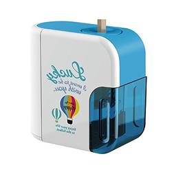 Baidecor Electric Pencil Sharpener Blue Balloon