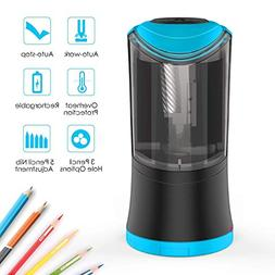 Yakalla Electric Pencil Sharpener with Durable Helical Blade