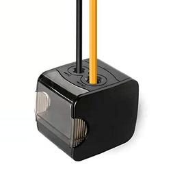 electric pencil sharpener double hole rechargeable automatic