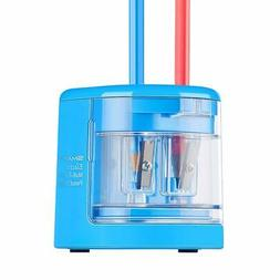 SMARTRO Electric Pencil Sharpener DOUBLE HOLE  USB/Battery O