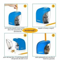 Electric Pencil Sharpener for No.2/HB Pencils and Colored Pe