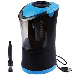 Electric Pencil Sharpener Heavy Duty Helical Blade, Auto-Sto