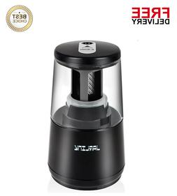 Electric Pencil Sharpener,Heavy-duty Helical Blade to Fast S