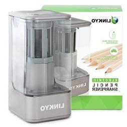 60-Pack LINKYO Electric Pencil Sharpener with Automatic Smar