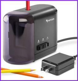 Electric Pencil Sharpener Kids Friendly & Battery Operated W