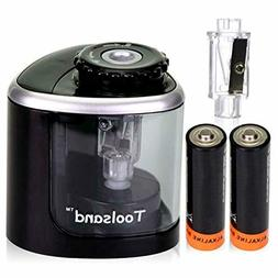 Toolsand Electric Pencil Sharpener Powered Batteries Include