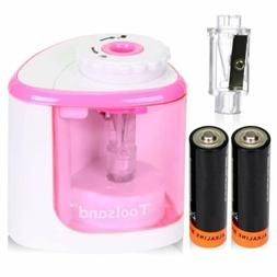 Electric Pencil Sharpener, Battery-Powered, Batteries Includ