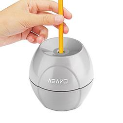 CNASA New Type Electric Pencil Sharpener with Auto-Stop Safe