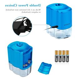 Electric Pencil Sharpener with Helical Blade Home Office Aut