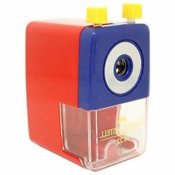 Faber-Castell Hand-Cranked Pencil Sharpener S-Size Red TFC-1