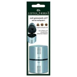 FABER-CASTELL USA 283898 GRIP TRIO 3 HOLE PENCIL SHARPENER C