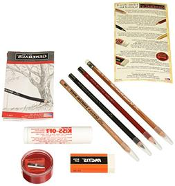 General Pencil Fabric Pencil Survival Kit