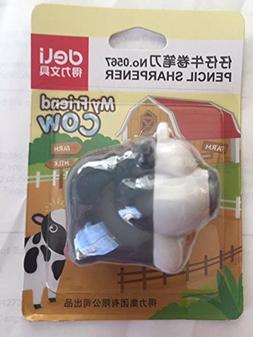 My Friend Cow Dark Grey Cow Pencil Sharpener