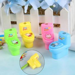 funny toilet pencil sharpener cutter knife school