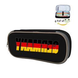 FTIAL Germany Big Capacity Pencil Case Double Zipper Large S