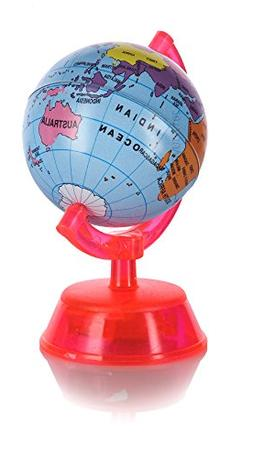 "3"" Globe Pencil Sharpener  Perfect for school, work, and hom"