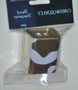 Cynthia Rowley Gold & White Pencil Sharpener