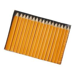 Dixon Golf Pencils, #2 HB Soft, Pre-Sharpened, Yellow, 144 C