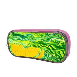 Green Pattern Large Capacity Multi-Layer Pencil Case Back To