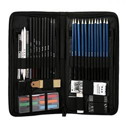 H&B48 Sketch Wood Pencil Painting Tool Set Professional Art