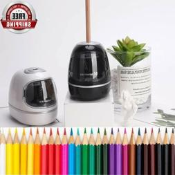 Heavy Duty Electric Pencil Sharpener Battery Operated Fast S