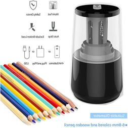 Heavy-duty Electric Pencil Sharpener, Helical Blade to Fast