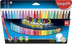 Maped Color'Peps Long Life Super Tip Ultrawashable Markers,