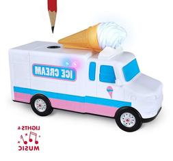 Ice Cream Pencil Sharpener with Lights and Music