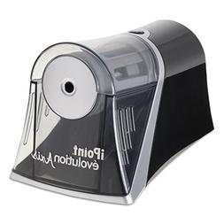 Ipoint Evolution Axis Pencil Sharpener Black/Silver 4 1/4 w