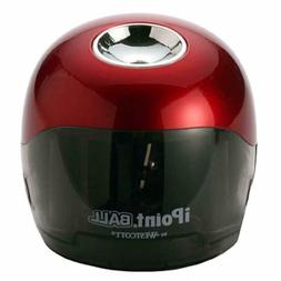 ipoint ball battery pencil sharpener red black