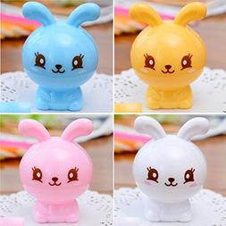 Seaskyer 1PC Kawaii Animal Stationery Student Plastic Cartoo