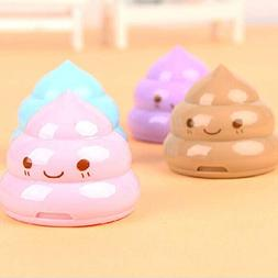 Autumn Water Kawaii Shit Pencil Sharpener Shape Cutter Knife