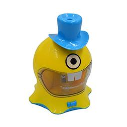Cartoon Electric Pencil Sharpener Battery Operated Replaceab