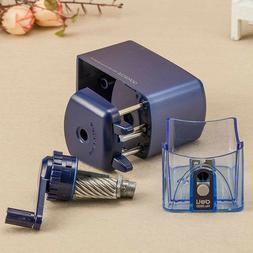 kids office pencil sharpener steel knife hand