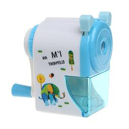 LoXTong Kids Pencil Sharpener Stationery Hand Crank Mechanic