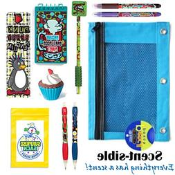 Kids Themed Stationary Accessories-Pencils, Pens, Erasers &
